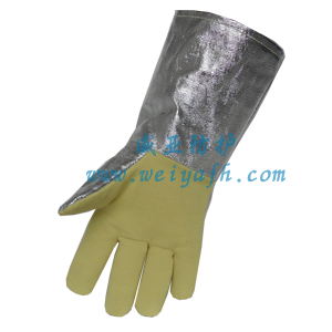 铝箔复合芳纶耐高温手套