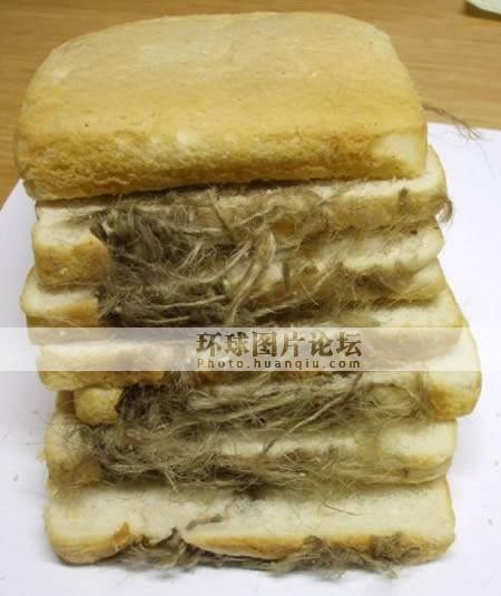 面包里的耐高温手套